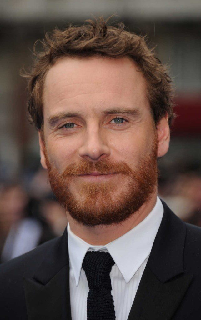 Michael Fassbender is a ginger god