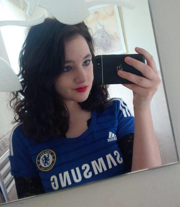 Sophie, Chelsea fan.