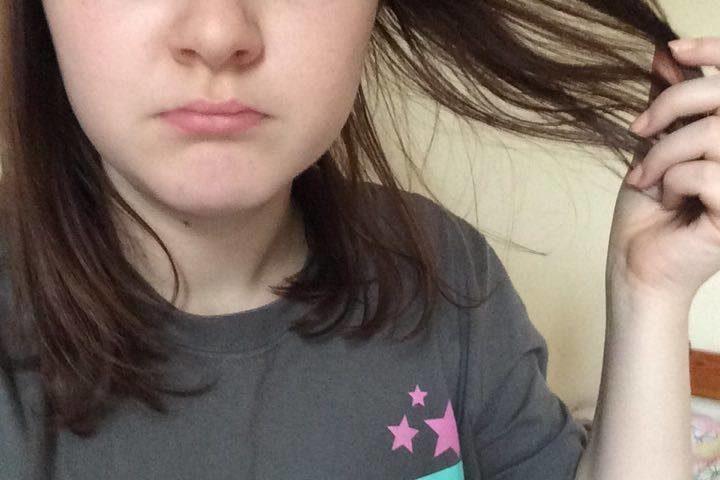 the struggles of having thin hair