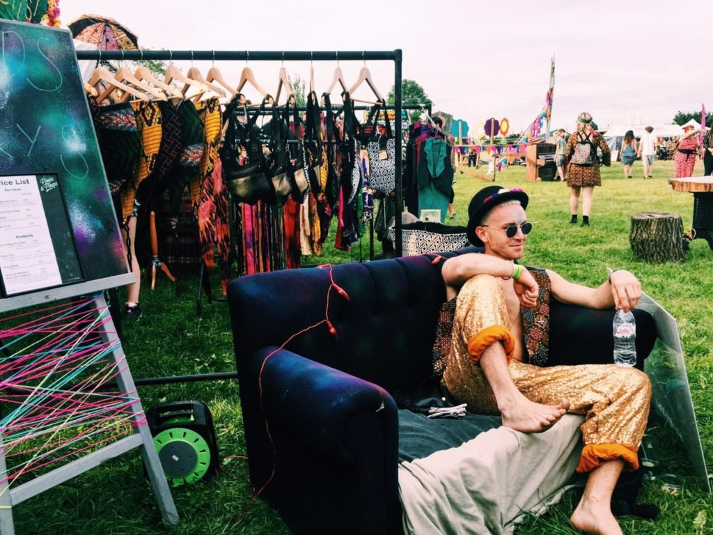 secret garden party was the most colourful place on earth