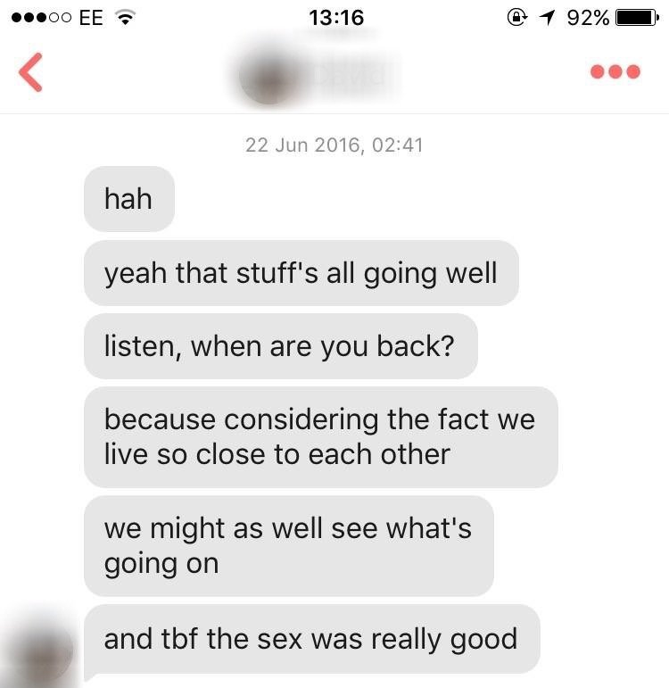 We asked girls to show us their best booty call texts