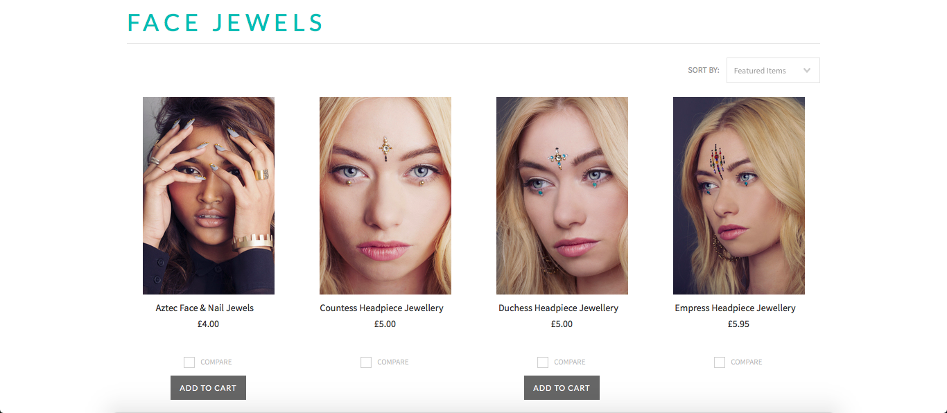 They're not 'face jewels'
