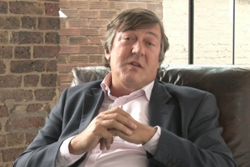 Winged his way through his English degree at Cambridge. But then he is Stephen Fry.