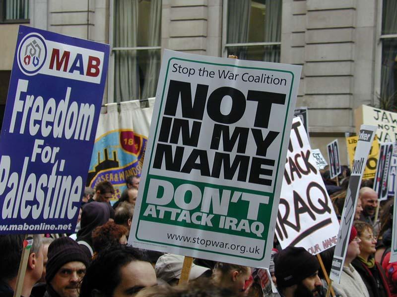 Stop The War 2003 #4