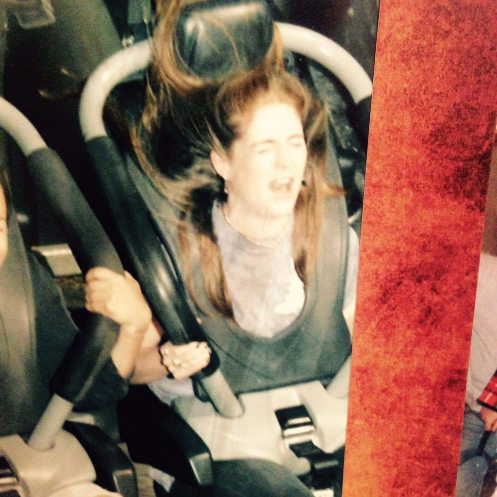 Also I dont like rollercoasters