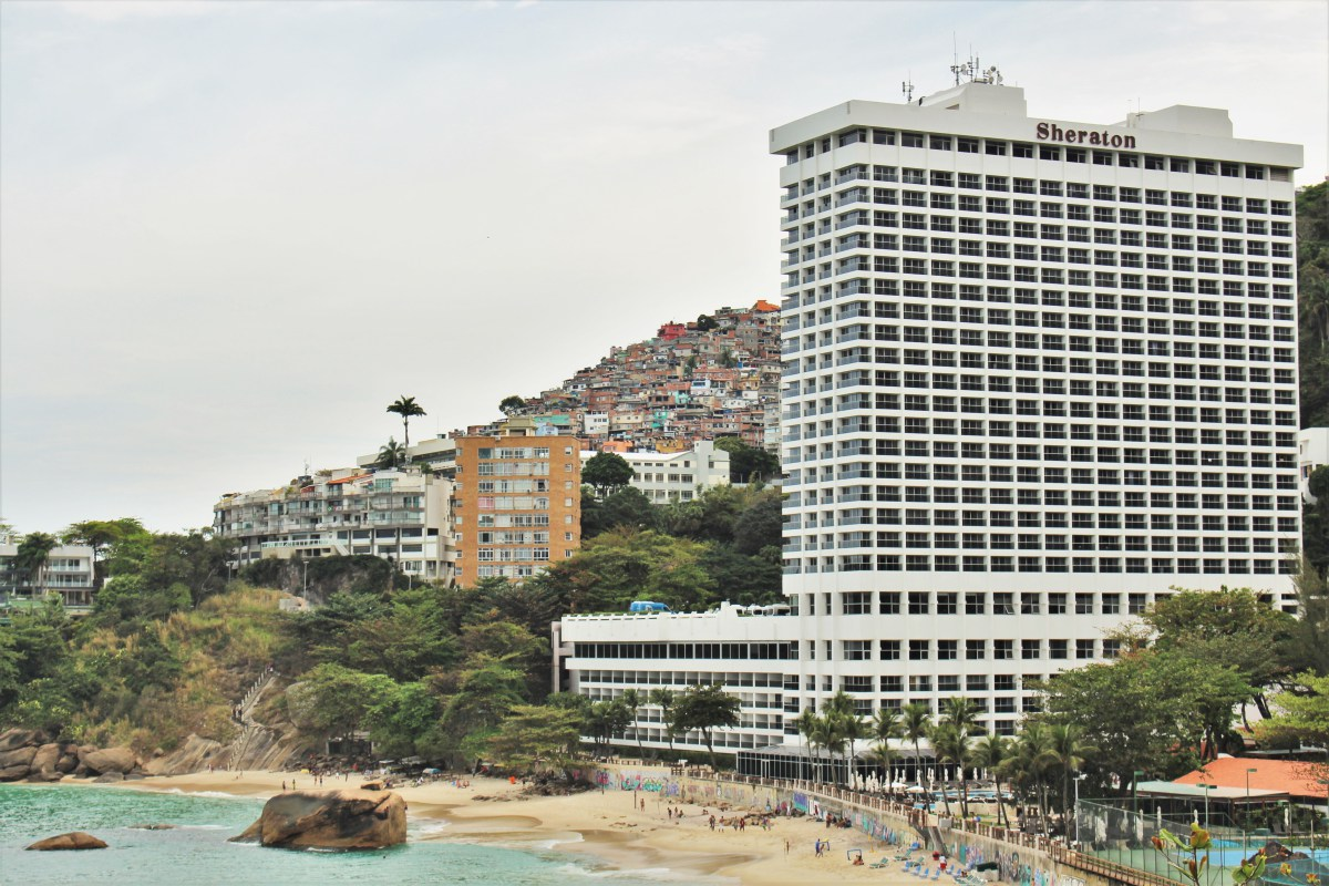 The Sheraton Grand Rio Hotel & Resort, in front of Vidigal