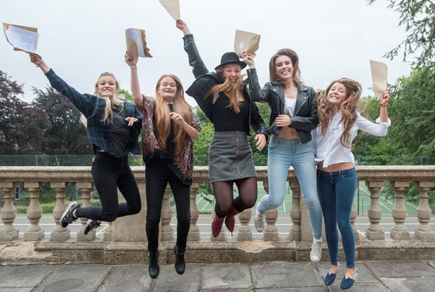 jumping girls alevels