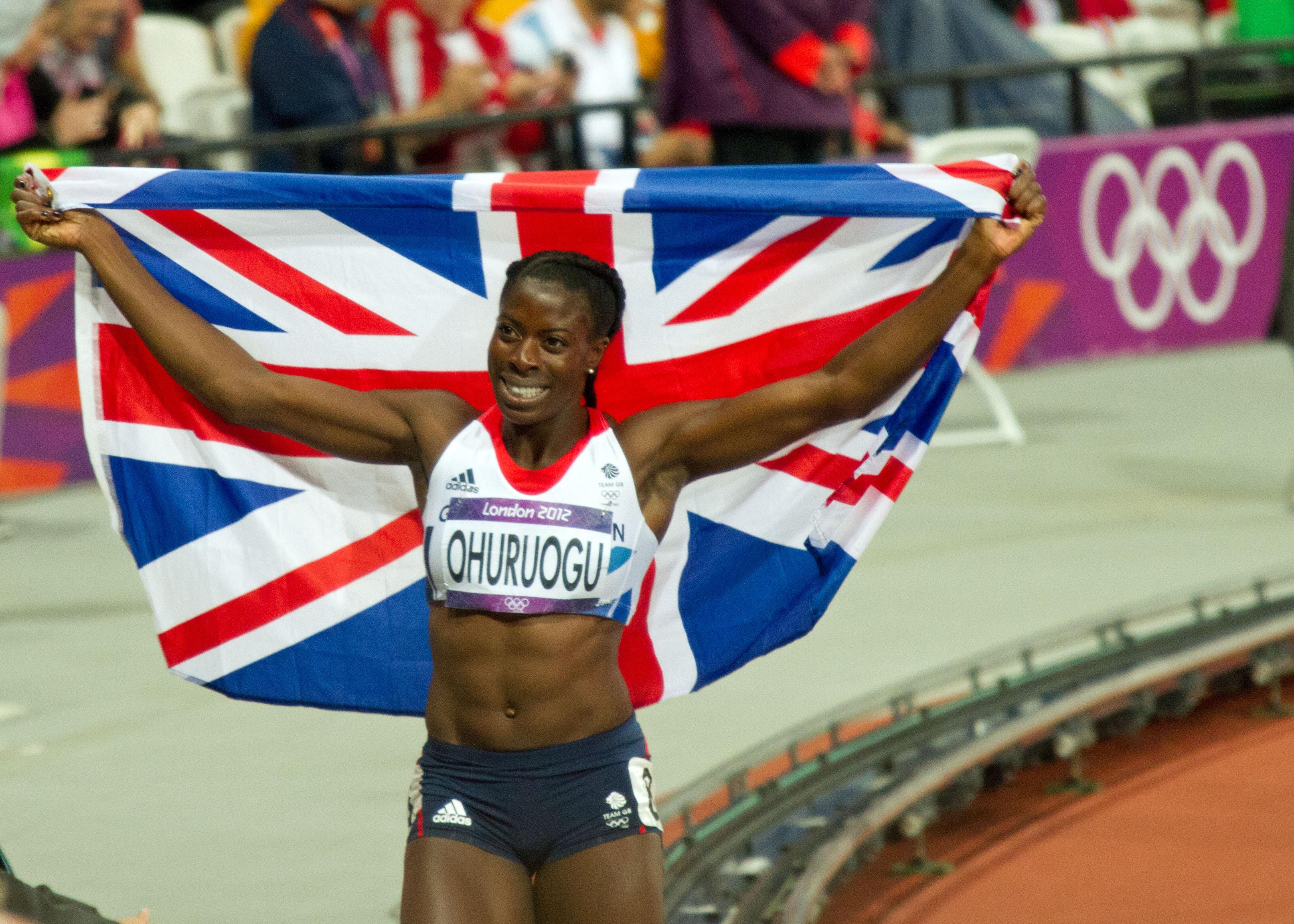Christina OhuruoguSilver medalist London 2012