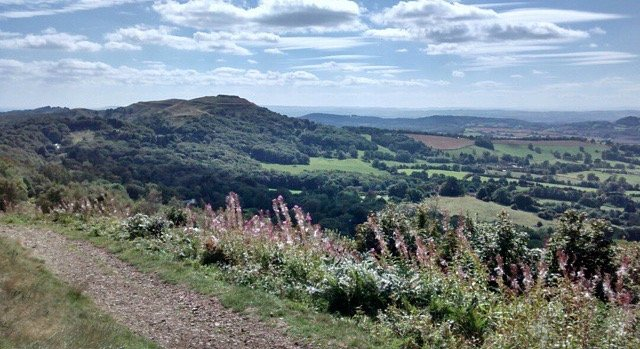the rolling hills of Malvern