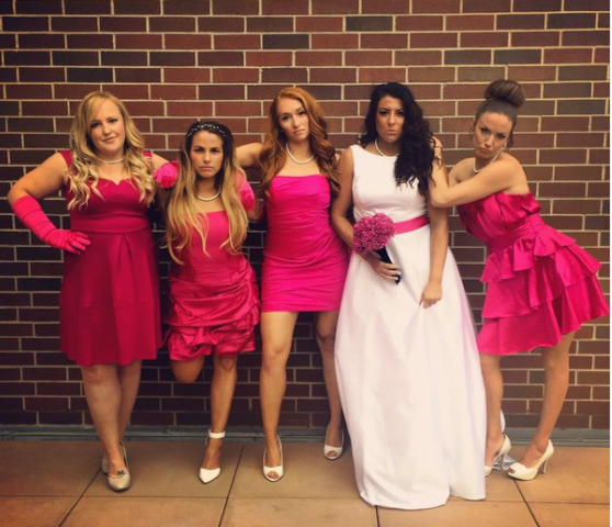 Halloween Bridesmaid Costumes.Fierce Girl Gang Costumes You Should Wear This Halloween