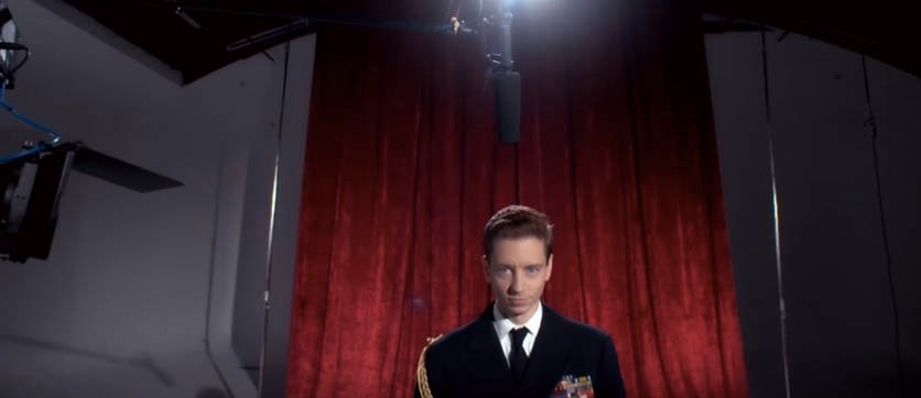 Perez in character as Miscavige