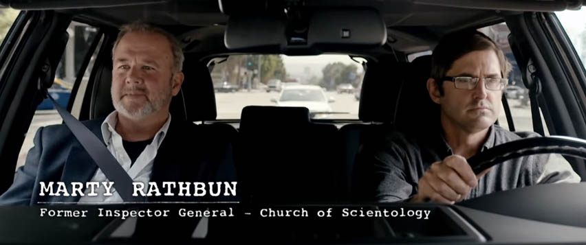 Marty Rathbun with Theroux
