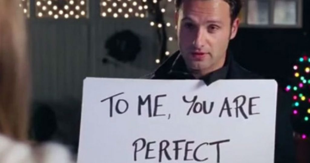 love actually storylines