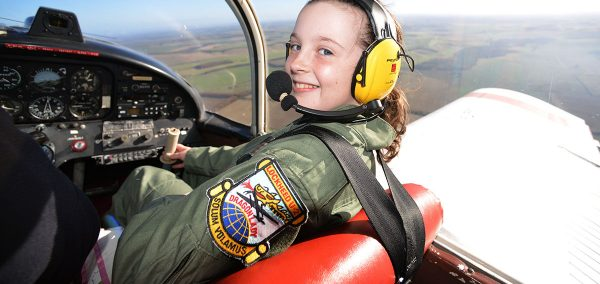 Ellie Carter,15, the UK's youngest female pilot