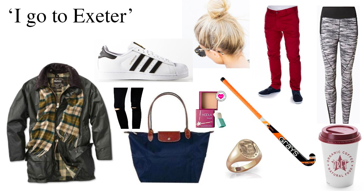 How to fit in at your university, in starter pack form