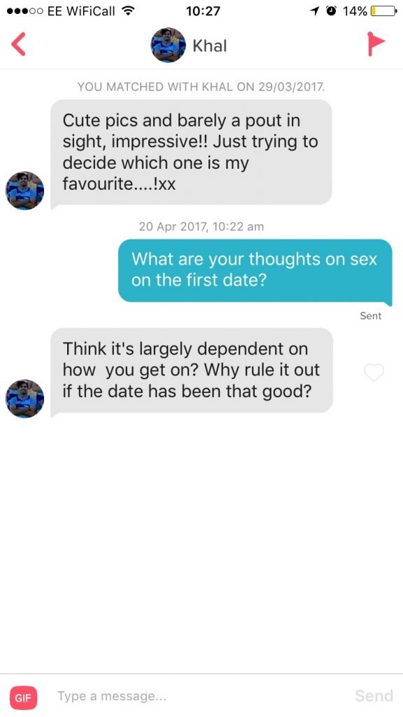 How to get a date from tinder