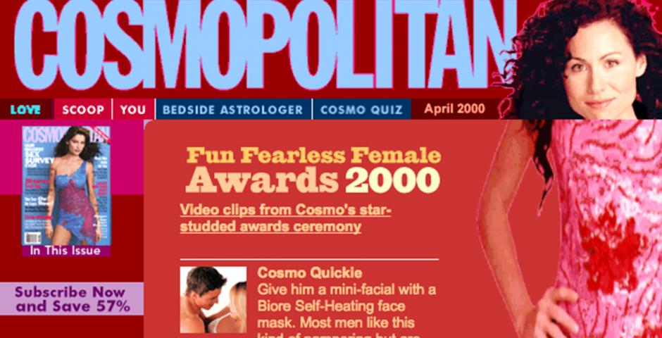 cosmopolitan magazine advice column
