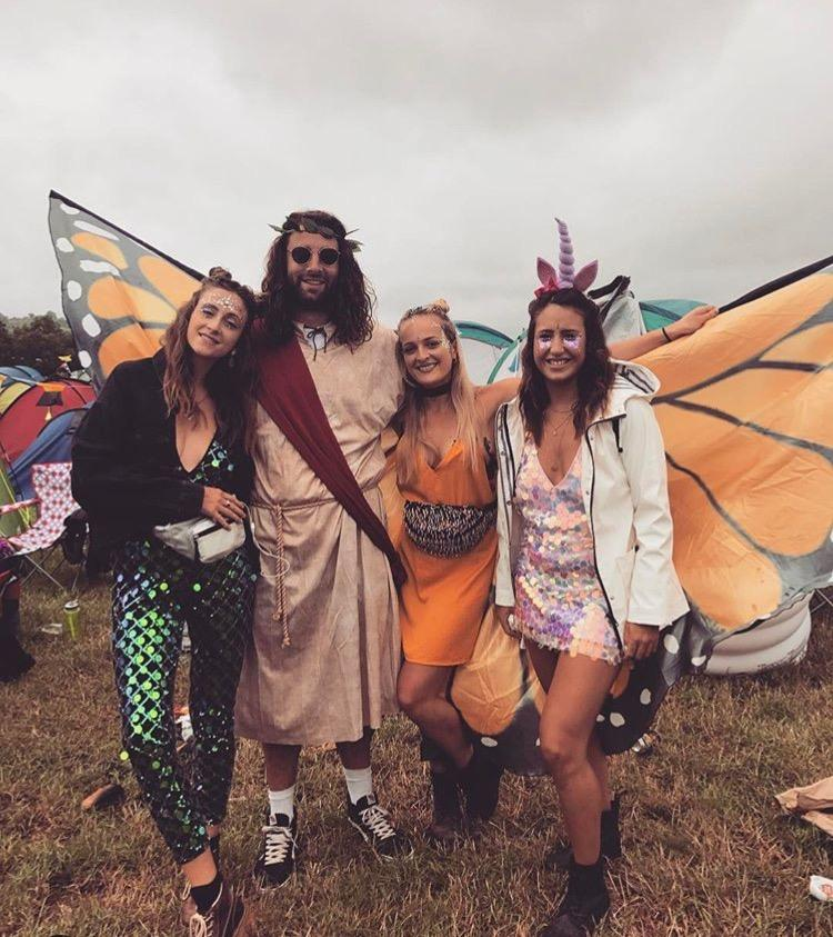 Glitter, bum bags, unicorns and jesus – festival essentials