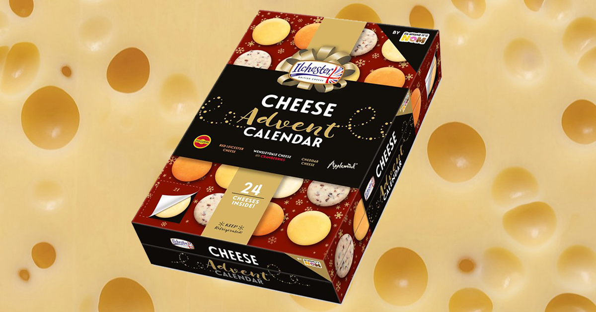 You Can Now Get A Cheese Advent Calendar For 163 8 From Asda