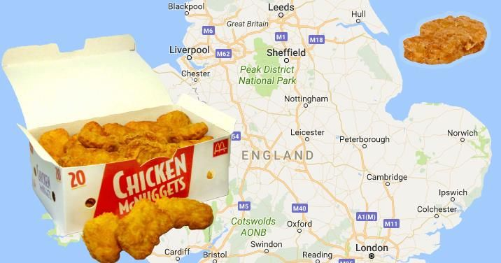 Image may contain: Money, Map, Atlas, Nuggets, Fried Chicken, Food