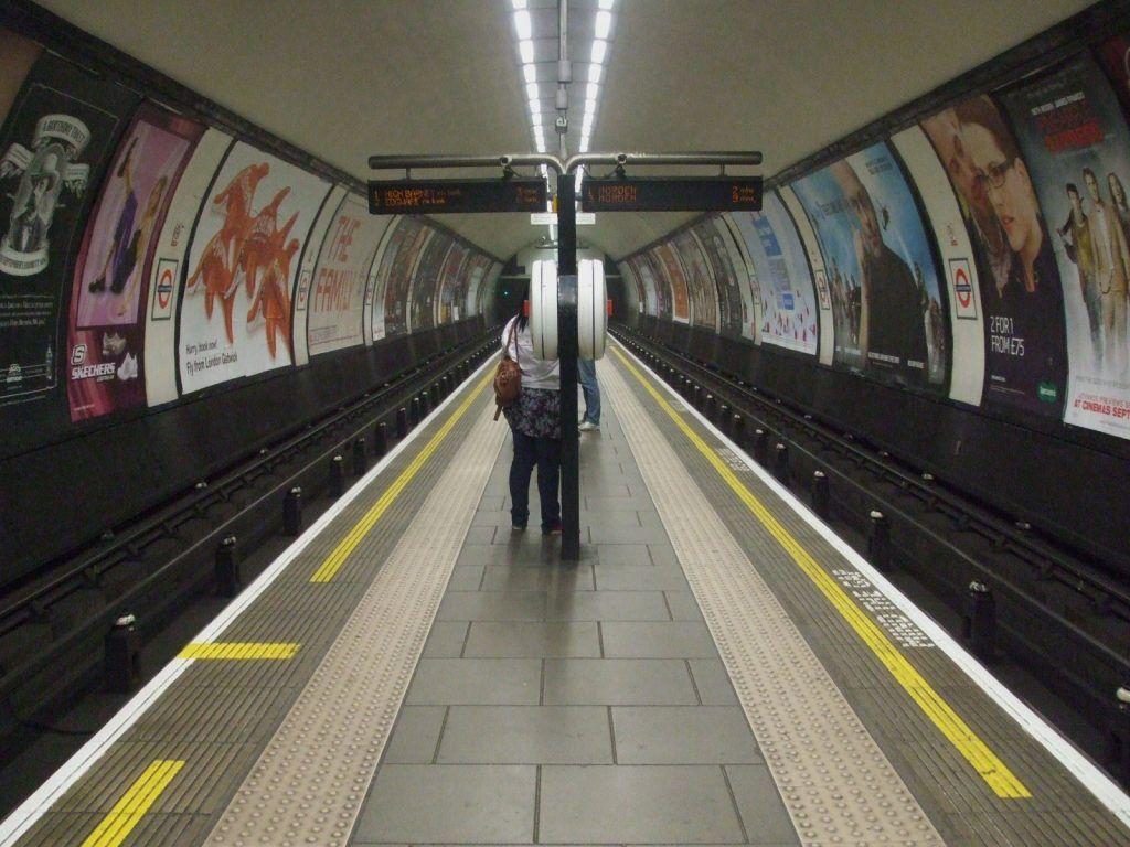Image may contain: Vehicle, Transportation, Train Station, Train, Terminal, Subway