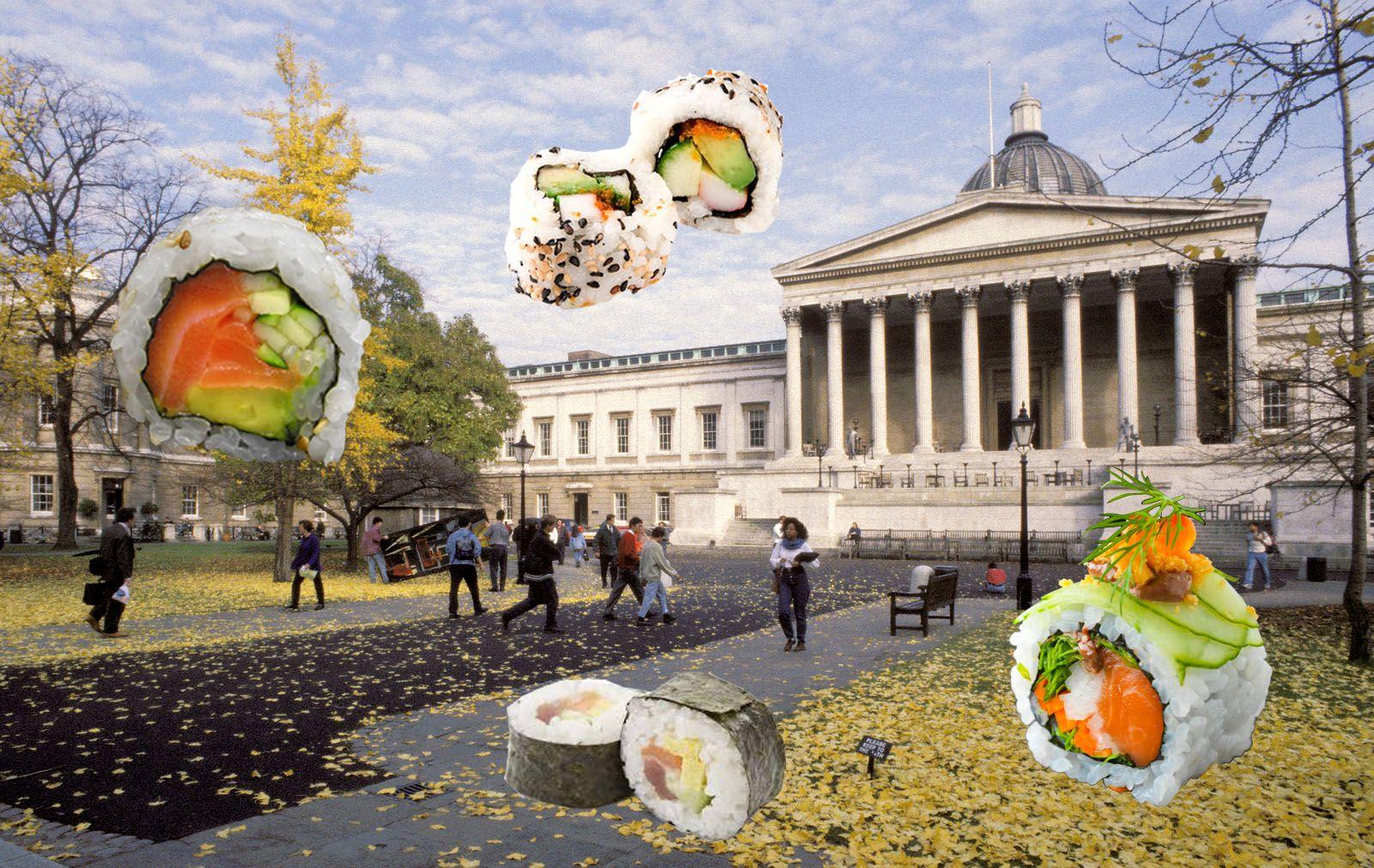 Image may contain: Sushi, Food