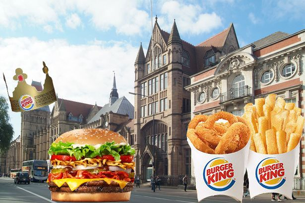 Image may contain: Worship, Church, Tower, Steeple, Spire, Building, Architecture, Roof, Food, Burger