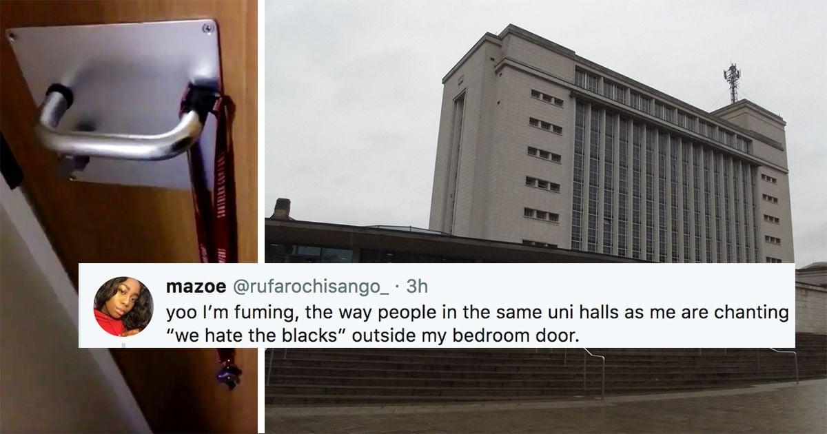 'We hate the blacks': Racist chants aimed at black fresher