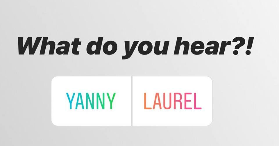 Why can I hear Laurel? Why can I hear Yanny?