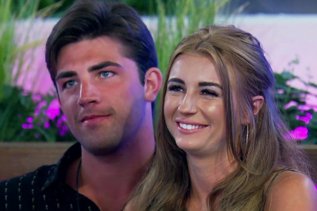 Image may contain: Love Island New Villa, Smile, Portrait, Face, Person, People, Human