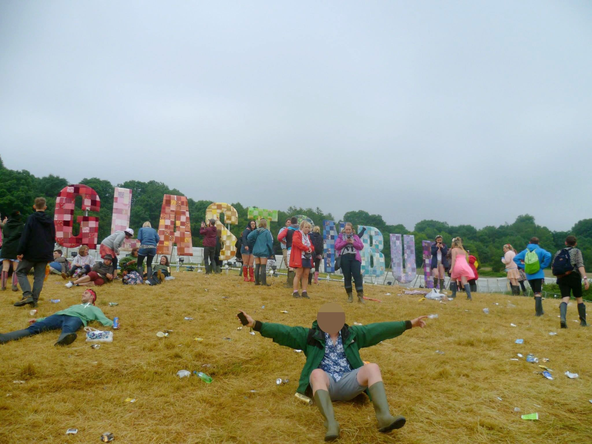 What happens when you're caught with drugs at a festival, by those