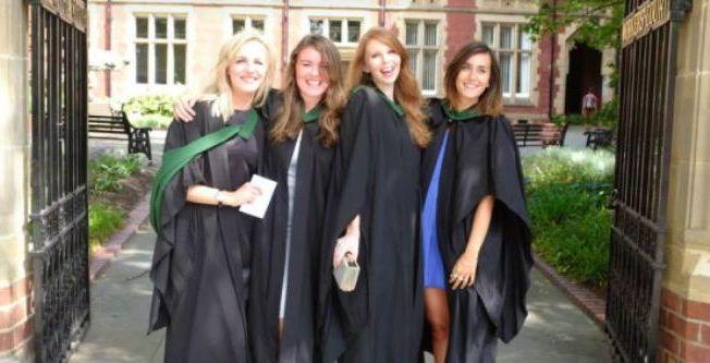 Image may contain: Graduation, Apparel, Clothing, Human, Person