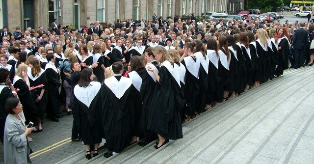 Image may contain: Graduation, Person, Human