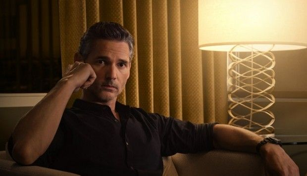 Image may contain: Dirty John, Eric Bana, John Meehan, Netflix, true crime, Face, Man, Table Lamp, Lamp, Person, Human