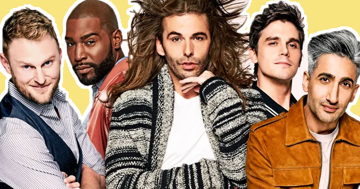 Image may contain: Netflix releases in March, new show, March, new, Netflix, Queer Eye, series, best, Hair, Apparel, Clothing, Performer, Face, Human, Person