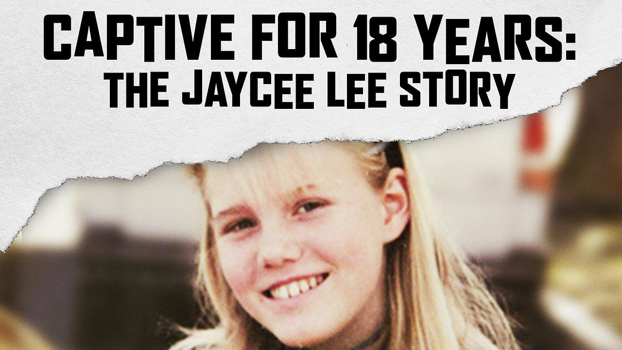 Image may contain: Netflix true crime, Jaycee Lee, The Jaycee Lee Story, crime, documentary, Hair, Poster, Advertisement, Smile, Word, Face, Blonde, Person, Human, Teen, Child, Girl, Woman, Kid, Female
