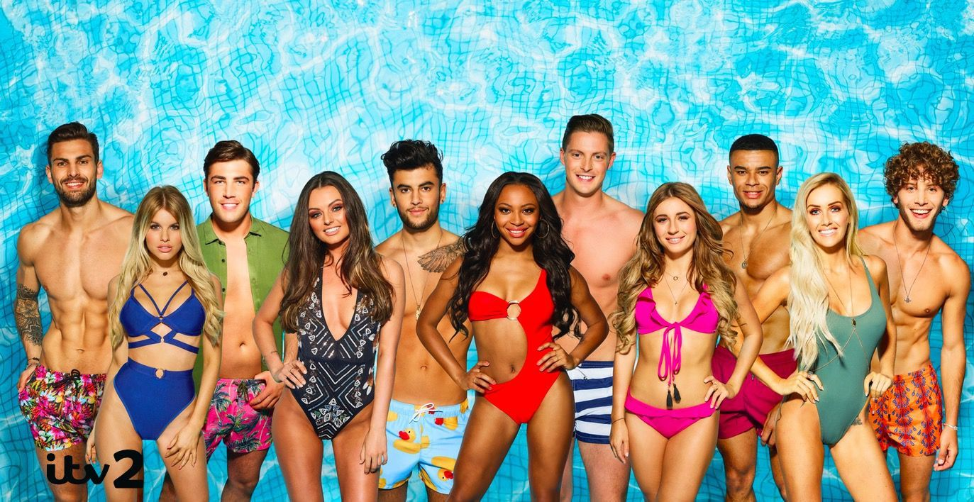 Image may contain: Love Island 2019, Love Island, cast, People, Water, Skin, Female, Spring Break, Swimwear, Bikini, Tourist, Vacation, Human, Person, Clothing, Apparel