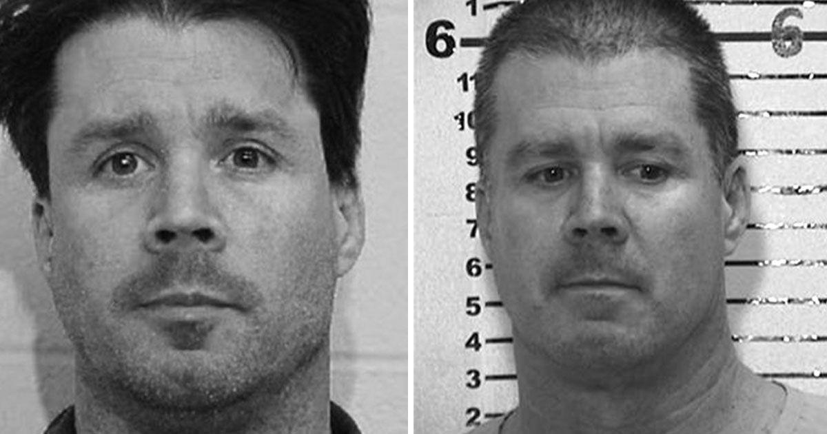 Image may contain: Dirty John true story, John Meehan, Dirty John, real life, mugshot, Skin, Jaw, Haircut, Hair, Human, Face, Person, Head