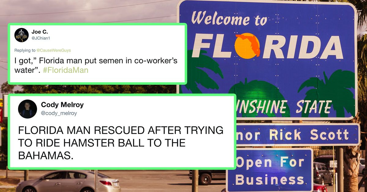 Florida Man birthday meme: How to do it and the wildest ones yet