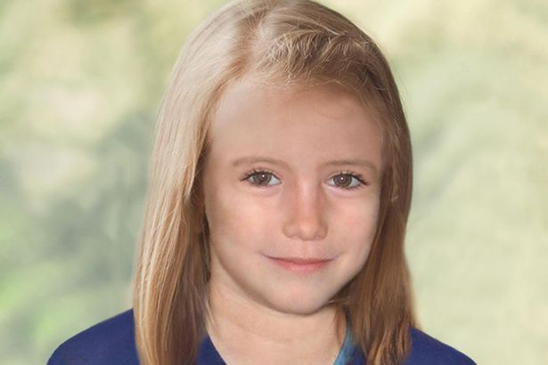 Image may contain: How old would Maddie McCann be now, in 2019? Maddie McCann artist impressions, Maddie McCann as an older girl, Dimples, Smile, Child, Teen, Girl, Kid, Blonde, Woman, Female, Person, Human, Face