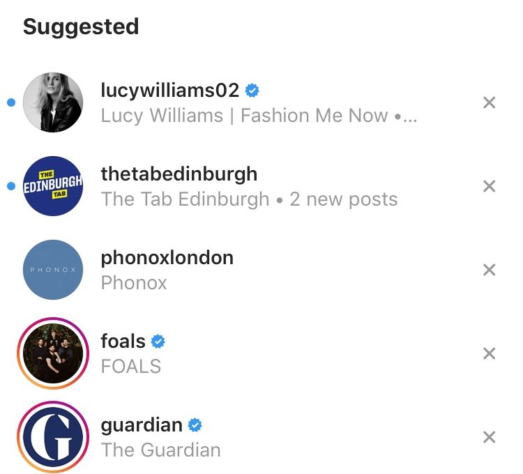 Instagram suggested search, Instagram search, suggestions, Instagram suggested search results, Instagram