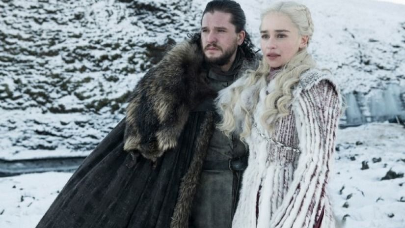 Image may contain: Game of Thrones documentary, Game of Thrones: The Last Watch, Game of Thrones, The Last Watch, GoT, doc, release date, UK, US, airdate, spoilers, Jacket, Coat, Fur, Human, Person, Clothing, Apparel
