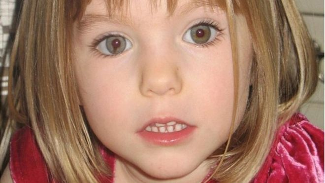 Image may contain: Madeleine McCann conspiracy theories, Madeleine McCann, Skin, Head, Smile, Face, Woman, Person, Kid, Teen, Girl, Blonde, Female, Child, Human