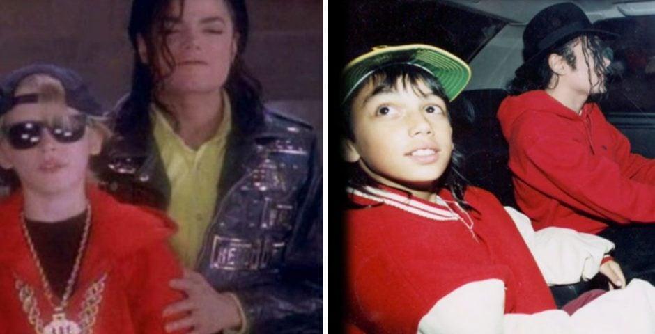 The Other Boys: Michael Jackson and Macaulay Culkin and Brett Barnes