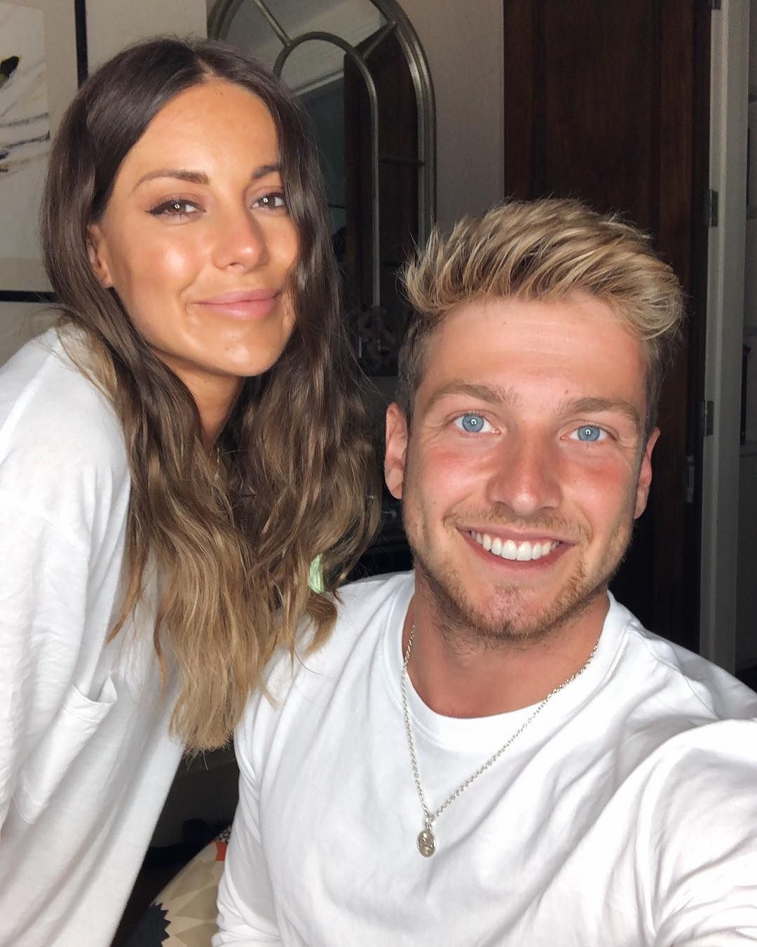 Image may contain: Made in Chelsea cast are actually from, Made in Chelsea, cast, place of birth, from, Louise Thompson, Sam Thompson,  Face, Apparel, Clothing, Person, Human