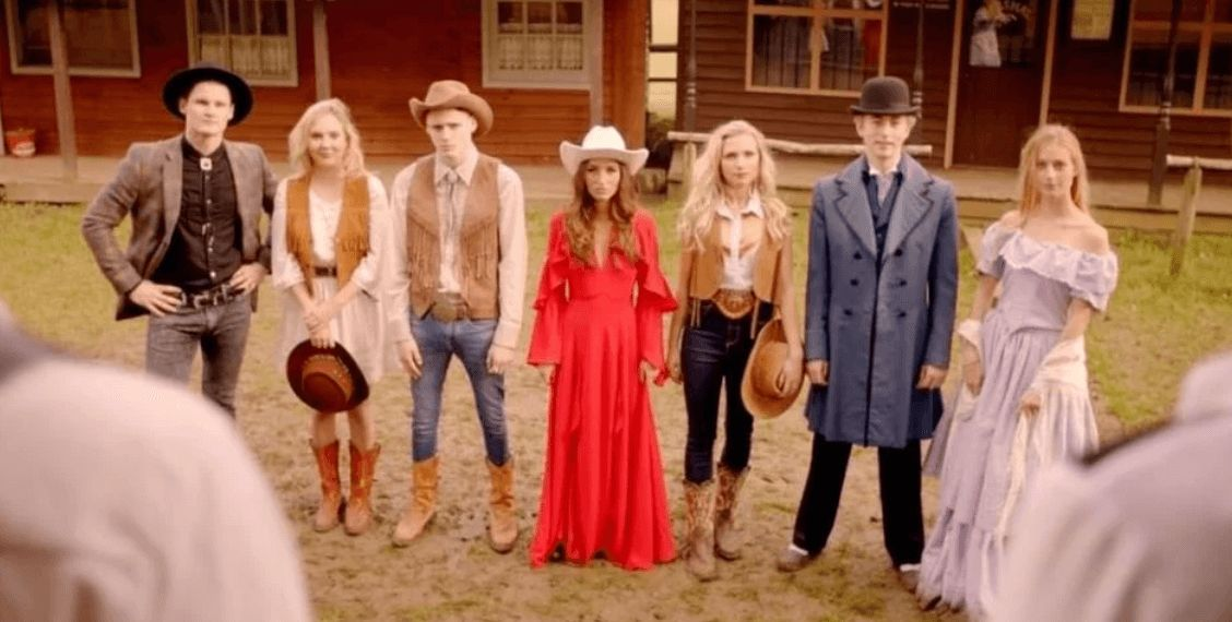 Image may contain: Made in Chelsea cast are actually from, Made in Chelsea, cast, from, birth place, hometowns, Sam Thompson, Louise Thompson, Digby, Miles, Olivia, Sophie, Toff, Melissa, Victoria, Hugo, Spencer, Binky, Ollie, Proudlock, Alex, Face, Hat, Overcoat, Coat, People, Pants, Costume, Dress, Clothing, Apparel, Girl, Teen, Woman, Female, Kid, Human, Blonde, Person, Child
