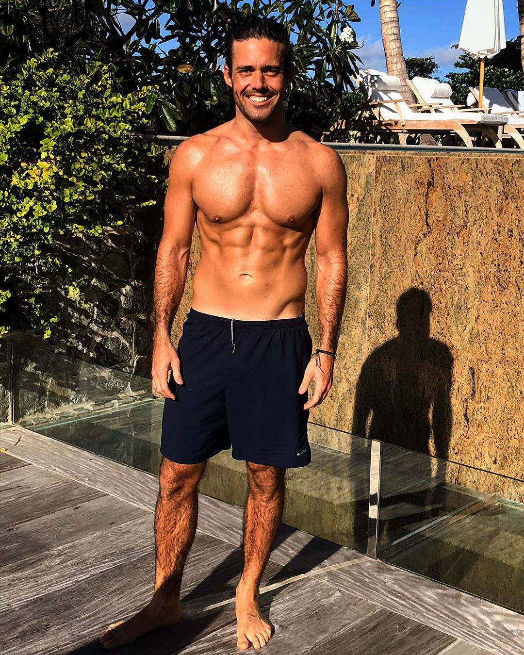 Image may contain:Made in Chelsea cast are actually from, Made in Chelsea, cast, place of birth, from, Spencer Matthews, Footwear, Man, Person, Human, Shorts, Clothing, Apparel