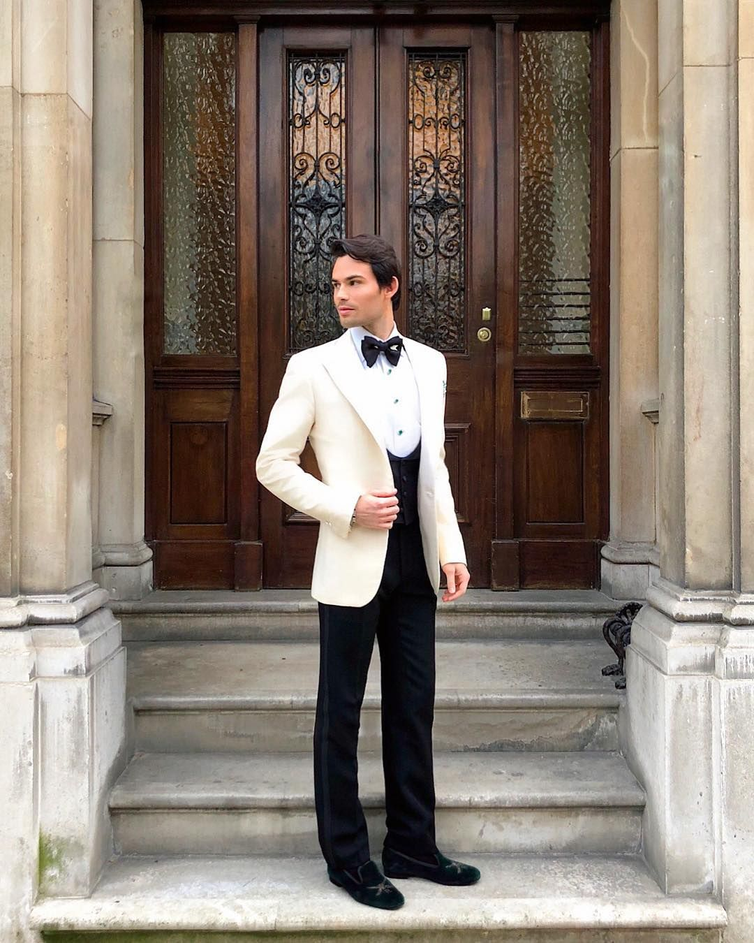 Image may contain: Made in Chelsea cast are actually from, Made in Chelsea, cast, place of birth, from, Mark Francis, Long Sleeve, Blazer, Jacket, Door, Coat, Overcoat, Suit, Sleeve, Footwear, Shoe, Human, Person, Clothing, Apparel