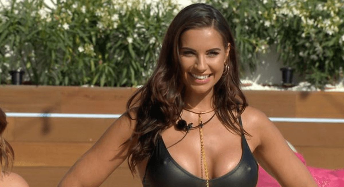 Image may contain: Love Island most shocking moments, Love Island, 2017, series three, season 3, Jessica Shears, best bits, highlights, wild, Pendant, Necklace, Accessory, Accessories, Jewelry, Face, Female, Clothing, Apparel, Human, Person