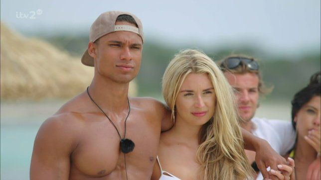 Image may contain: Love Island most shocking moments, Love Island, 2016, series two, best bits, highlights, People, Pendant, Accessories, Sunglasses, Accessory, Human, Person